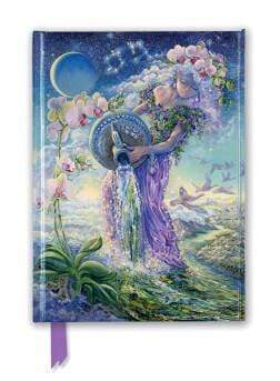 Marissa's Books & Gifts 9781787550421 Josephine Wall: Aquarius (Foiled Journal)Size 8.5''x 6.125''