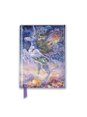 Marissa's Books & Gifts, LLC 9781787550483 Josephine Wall Foiled Pocket Journal : Soul of a Unicorn Size 6.125'' x 4.375''