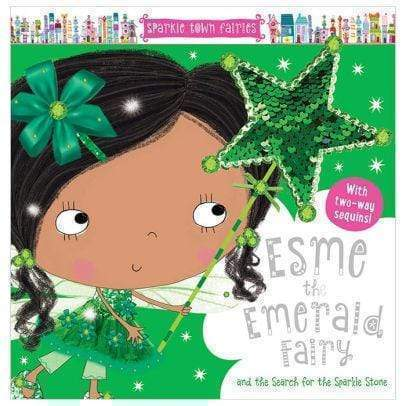 Marissa's Books & Gifts, LLC 9781788435055 Esme Emerald Fairy CB Sequin