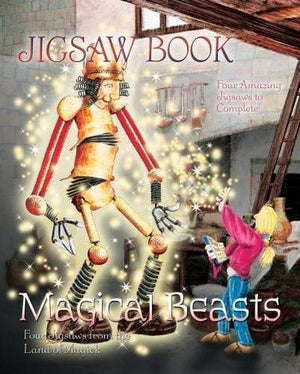 Marissa's Books & Gifts 9781844518579 Magical Beasts Jigsaw Book: Four Jigsaws From The Land Of Magick