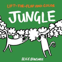 Marissa's Books & Gifts, LLC 9781847809315 Lift-the-flap and Color Jungle