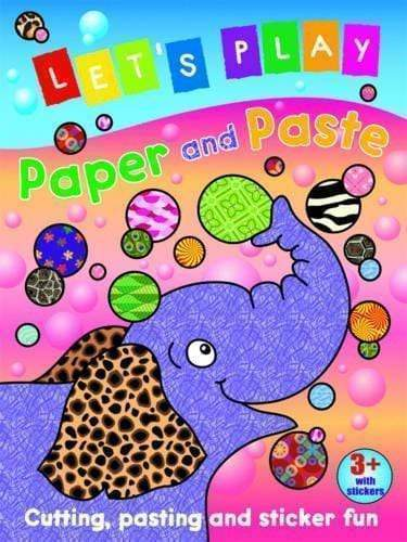 Marissa's Books & Gifts 9781849583145 Let's Play Paper And Paste: Elephant: Cutting, Pasting And Sticker Fun
