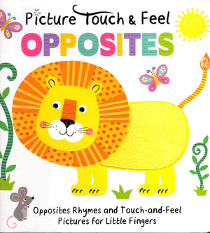 Marissa's Books & Gifts, LLC 9781942407348 Picture Touch & Feel - Opposites