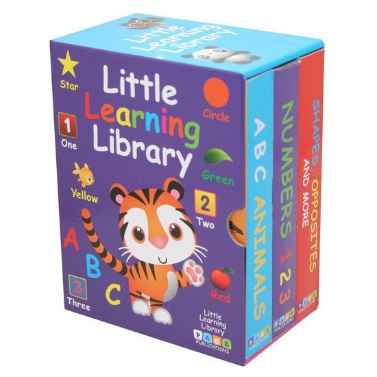 Marissa's Books & Gifts, LLC 9781947788282 Little Learning Library (3 Book Set)