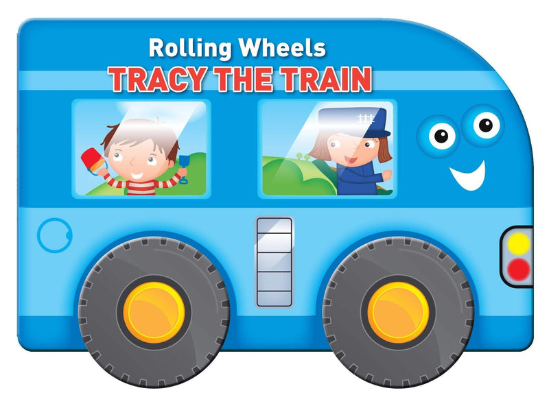 Marissa's Books & Gifts, LLC 9789462444522 Rolling Wheels: Tracy the Train