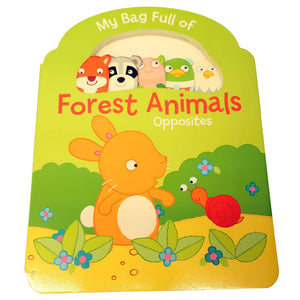Marissa's Books & Gifts, LLC 9789462444584 Forest Animals - Opposites