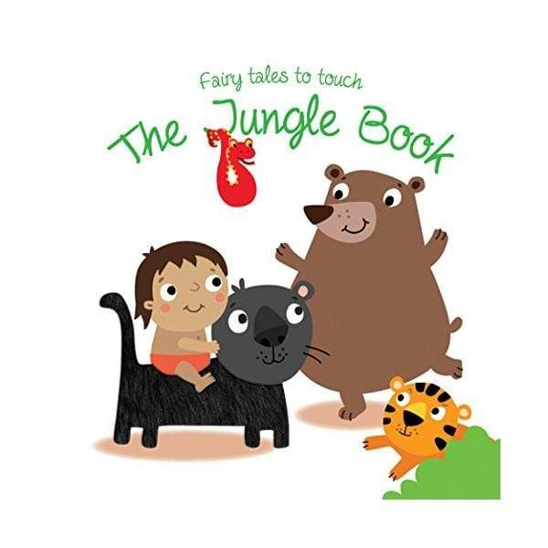Marissa's Books & Gifts, LLC 9789463045421 Fairytales To Touch - The Jungle Book