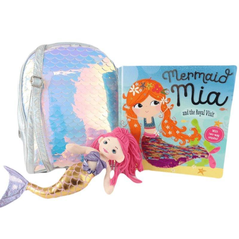 Marissa's Books & Gifts, LLC Mermaid Mia Gift Set - Silver
