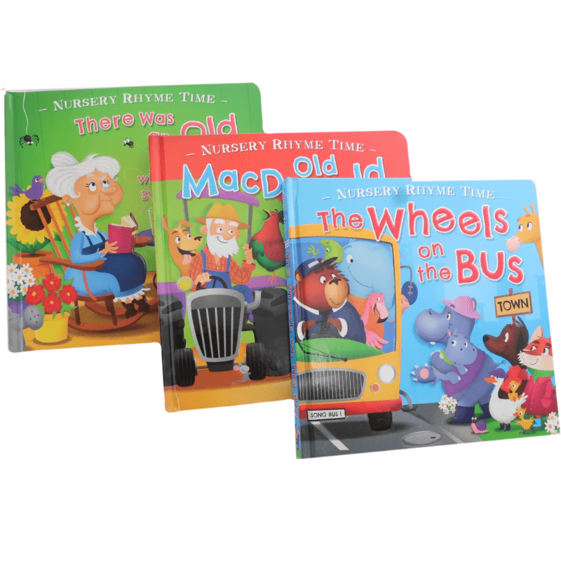 Nursery Rhyme Time Book Set - Marissa's Books