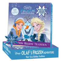 Marissa's Books Olaf's Frozen Adventure Book & Activity Kit