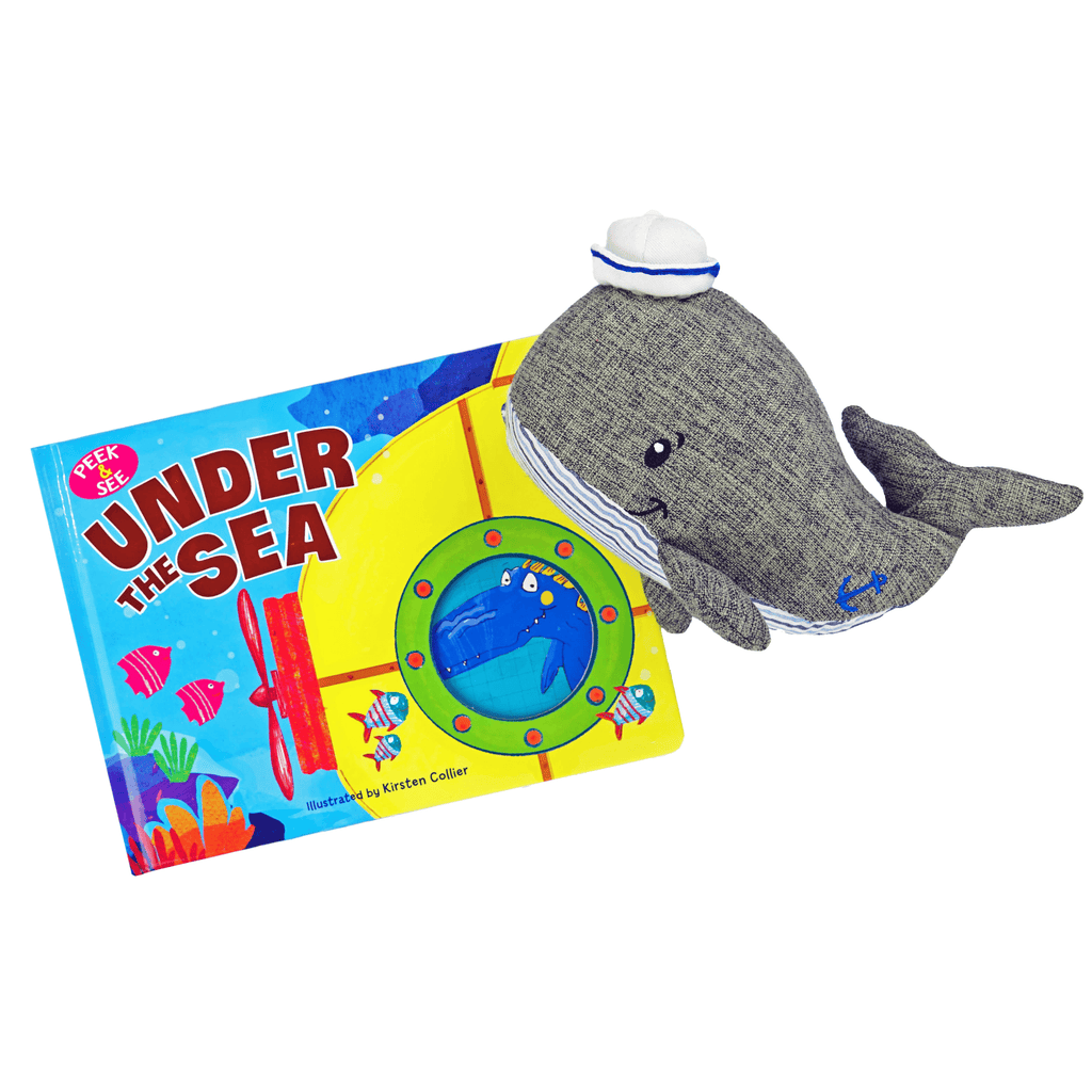 Marissa's Books & Gifts, LLC Under the Sea Plush Toy and Book Set