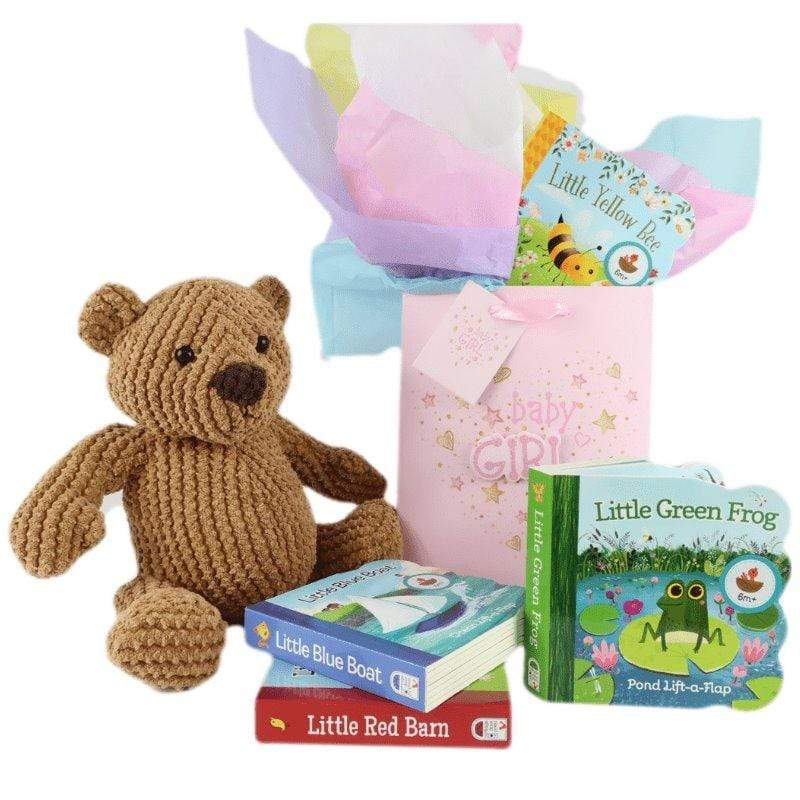 Marissa's Books Welcome Baby Girl Gift Set