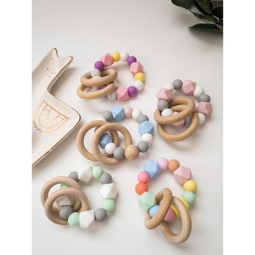 Baby Silicone Teething Rings