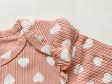 Load image into Gallery viewer, Ruffle Heart Onesie