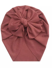 Load image into Gallery viewer, Ruby | Bowknot Turban Beanie