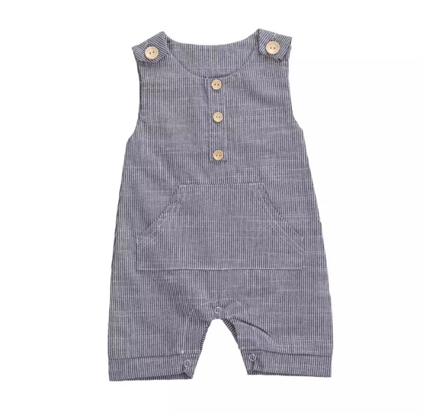 Miles | Button Romper