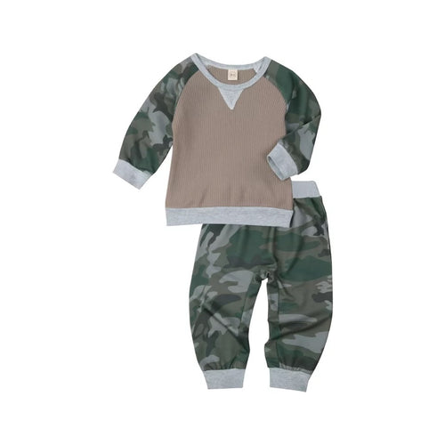 Mason | Ribbed Camo Set