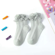 Load image into Gallery viewer, Ruffle Lace Socks