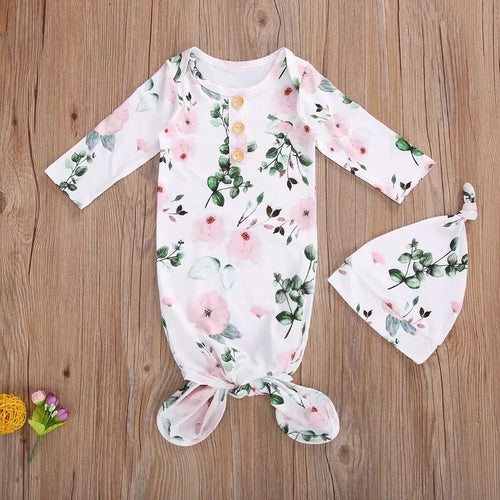 Livy | Baby Gown in Pink