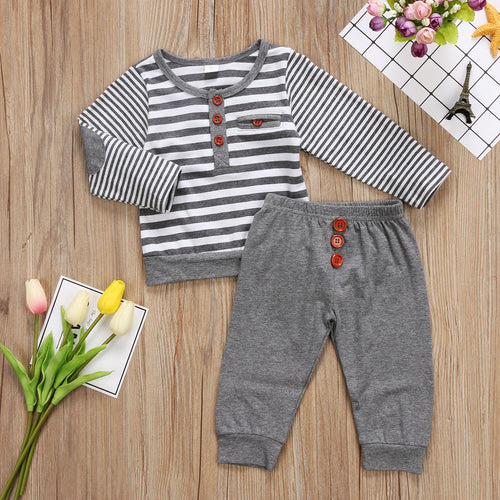 Walt | Stripe Matching Set
