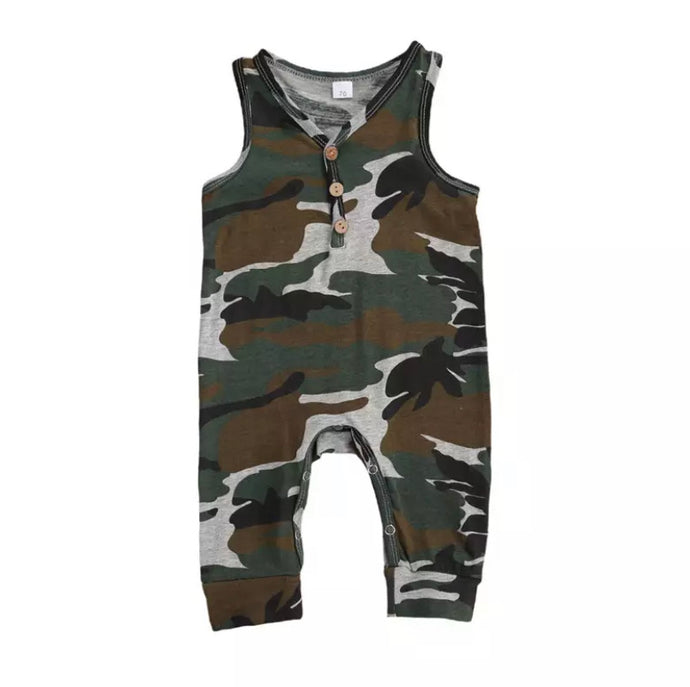 Hunter Camo Romper