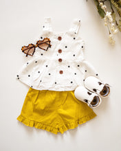 Load image into Gallery viewer, Sunshine | Yellow Polka Dot Outfit