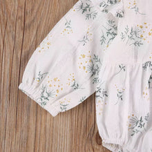Load image into Gallery viewer, Gabby | Floral Linen Romper