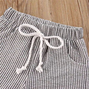 Ethan | Striped Short Set