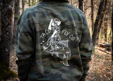 Load image into Gallery viewer, Camo Trout Wrangler Heavyweight Hoodie