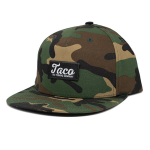 Structured Pinched 5 Panel Camo Hat