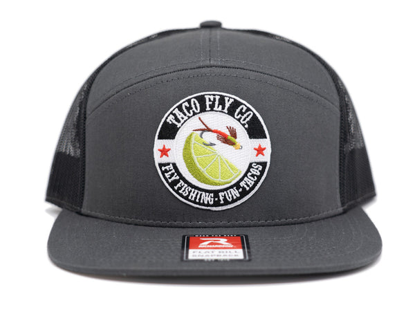Taco Fly Co. Colors Flat Bill Mesh 7 Panel