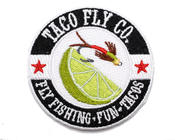 Taco Fly Co. Colors Iron-on Patch