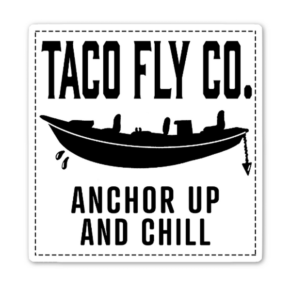 Anchor Up and Chill Sticker