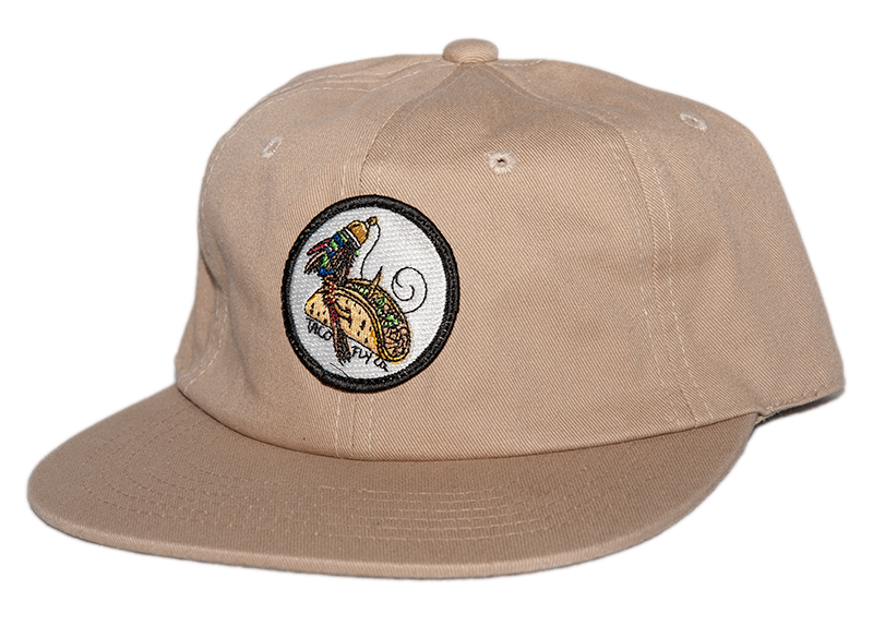 Flat Bill Padre Buckle Strap Hat