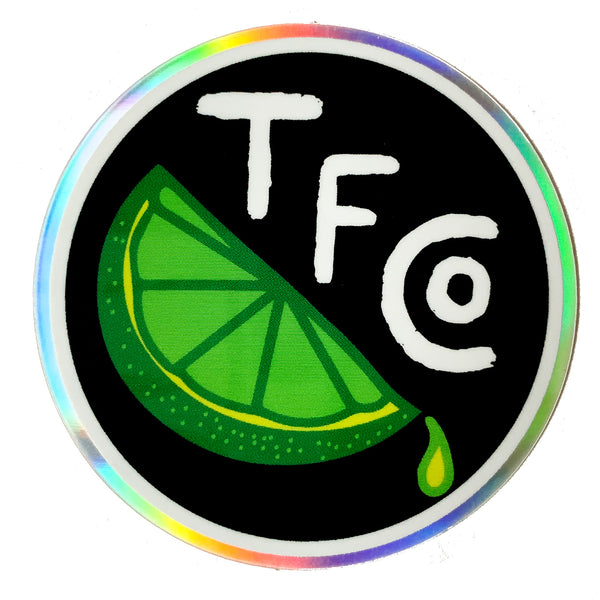 TFCo Lime Life Holo Sticker