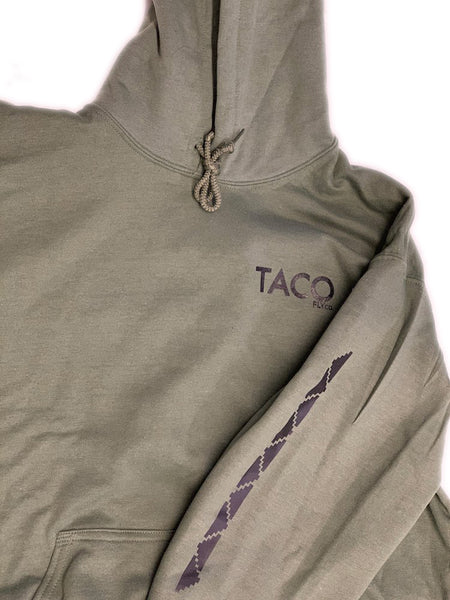 Military Green Mountain Hoodie