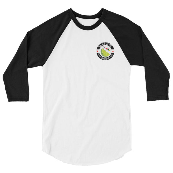 Taco Fly Co. Colors 3/4 sleeve raglan shirt