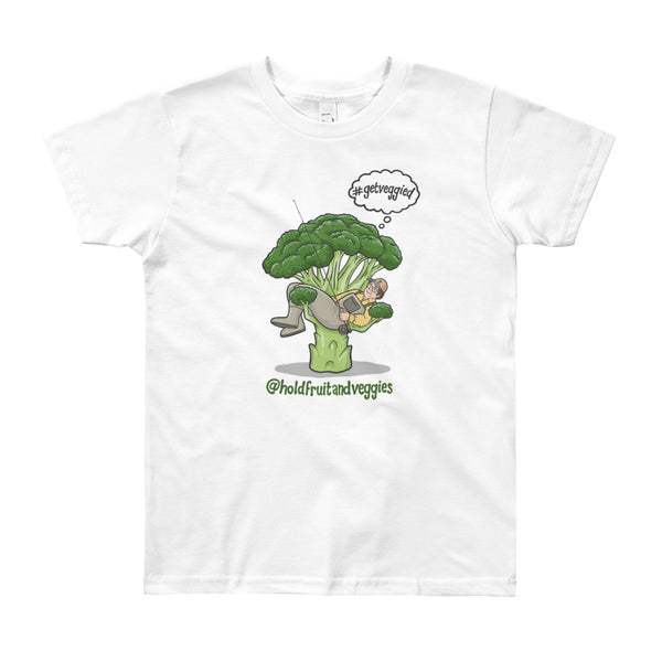 Youth Short Hold Fruit & Veggies Tee