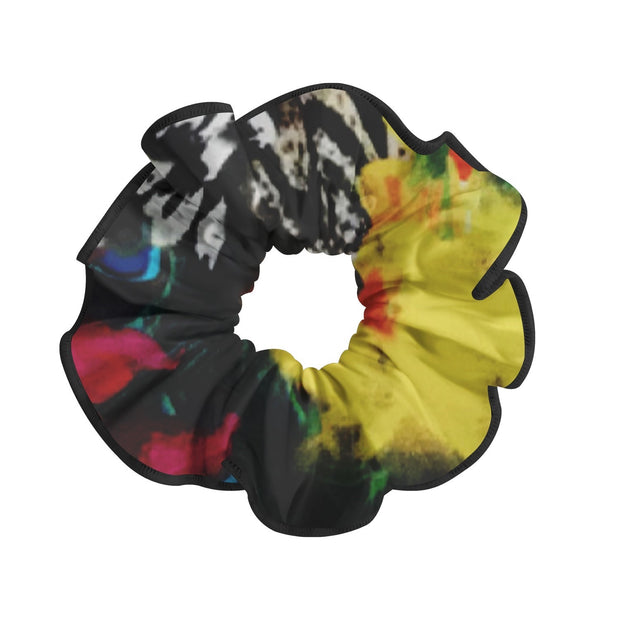 PATTERNED SCRUNCHIE - DANSE DE PARIS