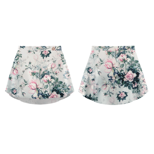 PATTERNED SKIRT PALE PINK - DANSE DE PARIS