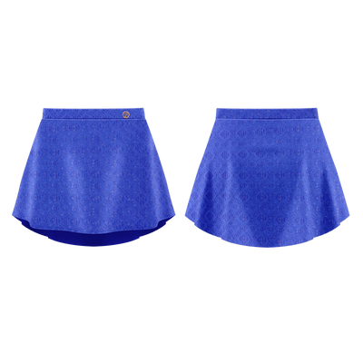 DENTELLE  SKIRT ROYAL