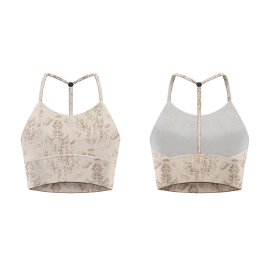 FLORENTINE CROP TOP CAPUCINE - DANSE DE PARIS