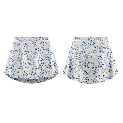 PATTERNED SKIRT BLUEBELLE - DANSE DE PARIS