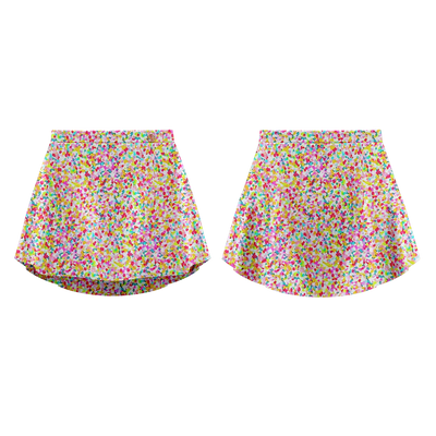 PATTERNED SKIRT CONFETTI - DANSE DE PARIS