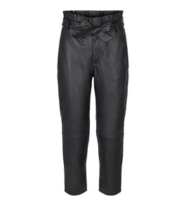 Phoebe Leather Pants - Bukser - Co'couture