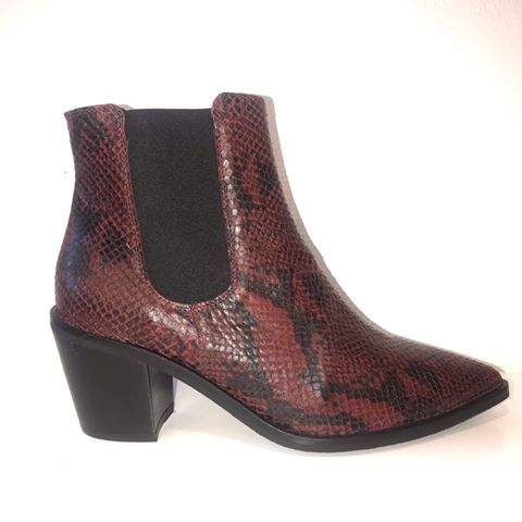Boot Red Snake - Støvler - KMB