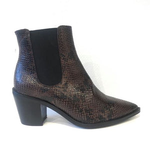 Brown Snake Boot - Støvler - KMB