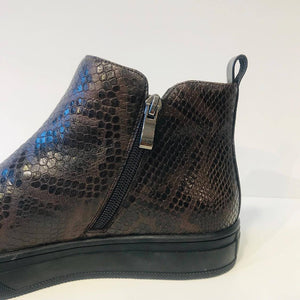 Brown Boot Snake - Støvler - &BlackClassics