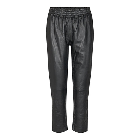 Shiloh Crop Leather Pants