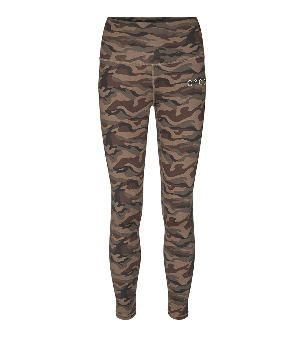 Camo Tights Army - Bukser - Co'couture